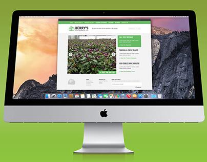 Berry's Greenhouses Website & Branding