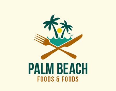 Palm Beach Food Logo