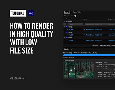 Tutorial - Render in High Quality with Low File Size