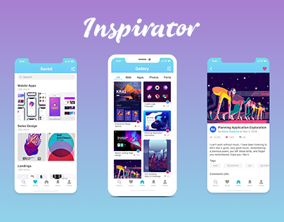 Inspiration Gallery App
