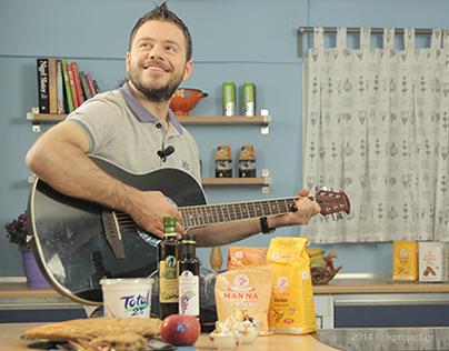 FT Bletsas cook show - Epsilon TV. (DoP by tk)