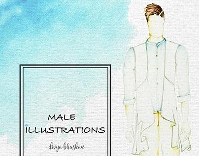 Male Illustrations