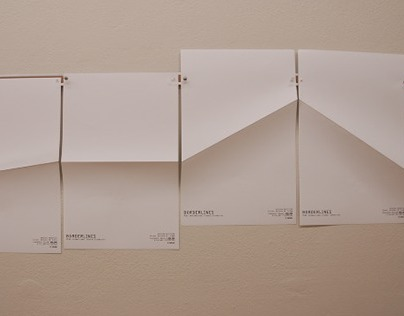 Poster for Borderline Exhibition