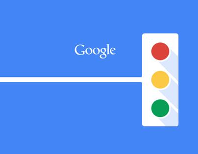 Google UI Redesign- color for navigation