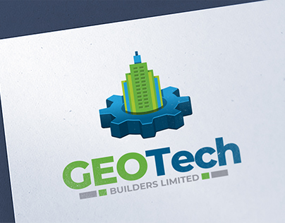 GeoTech Builders Limited Logo Design Project