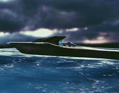 The Manta Speedboat
