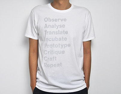 The Art of Design: Graphic Design T-shirt