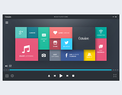 Media Player User Interface | Download