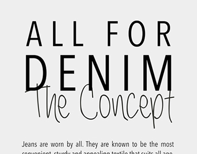 All For Denim - Journal: Us. Apparel and Textiles.