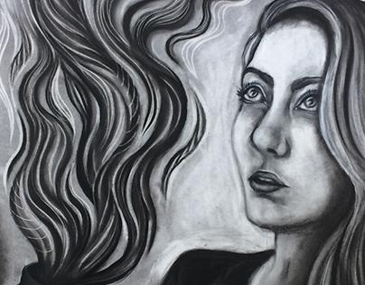 Mythological Self-Portrait