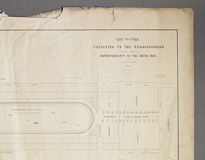 Plans for the Development of the Back Bay 1859