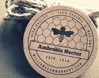 Ambrosia Nectar logo