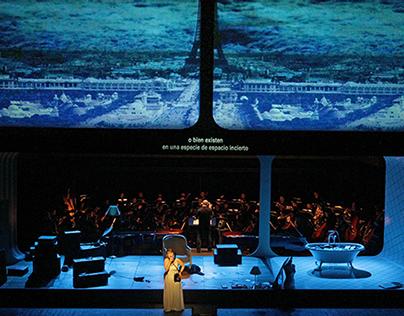 opera: LA VOIX HUMAINE / UNA VOCE IN OFF