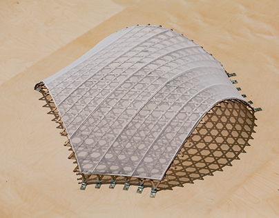3-way Geodesic Gridshell: Design & structural Analysis
