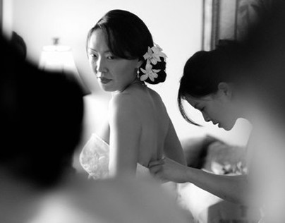 Kukahiko Estate Wedding, Makena, Susan and Vinh
