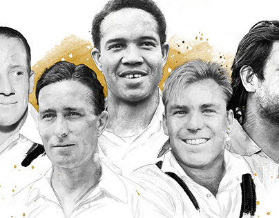 Five Cricket Icons