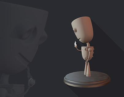 Concept character - Mr. Mac
