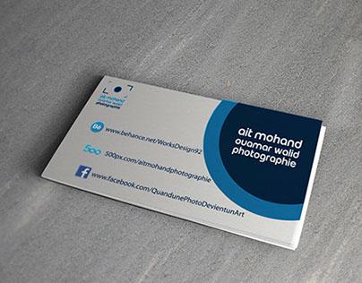 Visite Card Ait Mohand Photographie