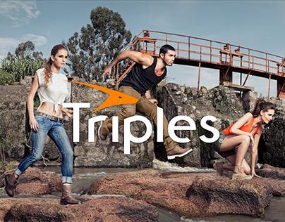 Campaña Publicitaria CALZADO TRIPLES 2014