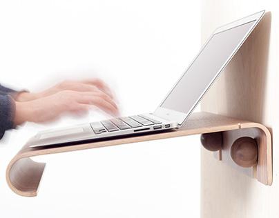 MacBook Wall Desk