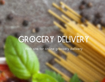Grocery delivery web site
