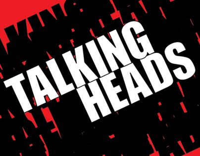Embalagem CD Talking Heads