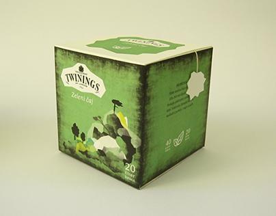 """""""Twinings"""" green tea"""