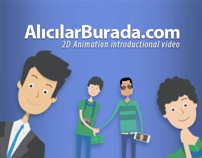 AlıcılarBurada.com / 2D Animation Project