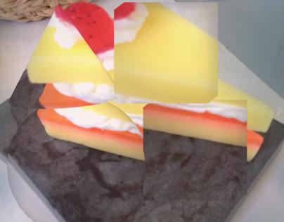Cubism cake