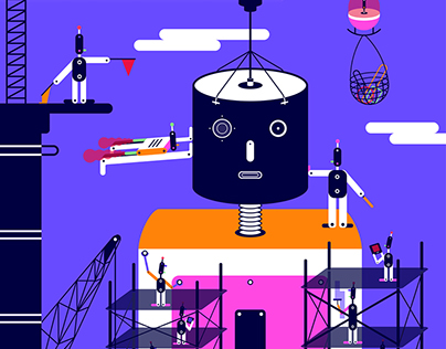 Editorial GIF + Illustration 2017