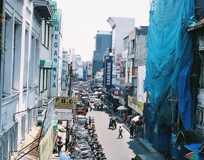 Bandung Old Town District - ABC Street
