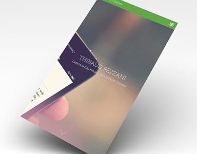 New online portfolio // Responsive design