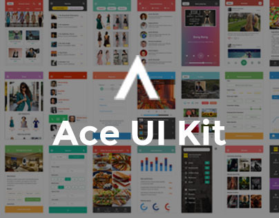 Ace iOS 8 Mobile UI Kit