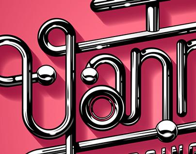 Yanni - logo/lettering