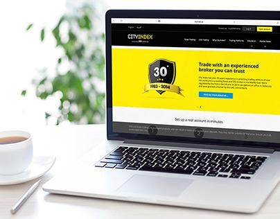 City Index AE Website