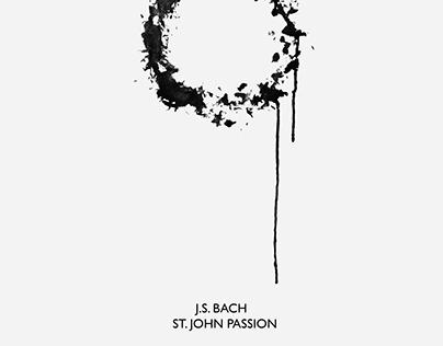 Artwork for the J.S. Bach St.John's Passion Concert