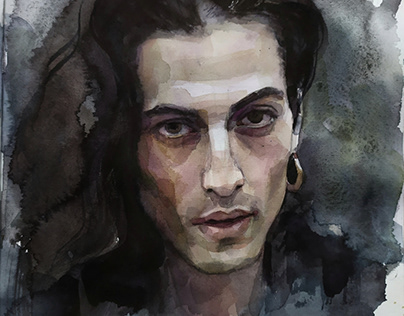 Damiano David   Watercolor