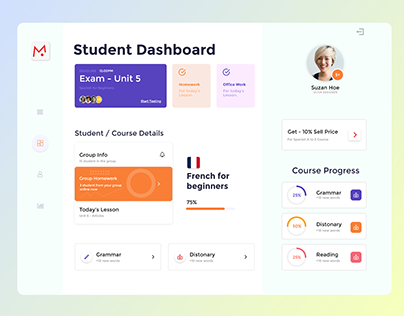 Education Dashboard Template