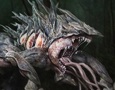 S.U.M.1 Creature design
