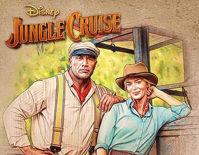 OFFICIAL Jungle Cruise Art