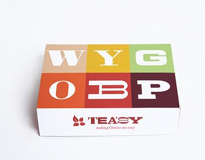 Teasy - chinese tea packaging