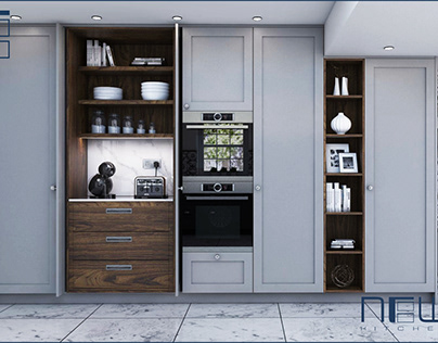 R-Line Shaker Style Kitchen Collection