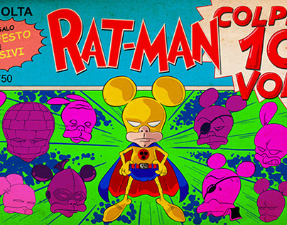 Rat-Man colpisce 100 volte!
