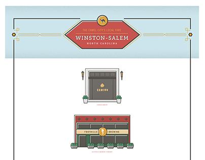Winston-Salem, NC Local Fare Ill. (Work In Progress)