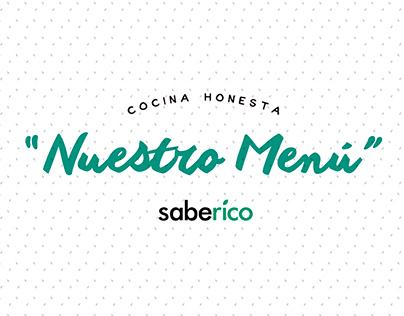 Saberico - Cocina Honesta