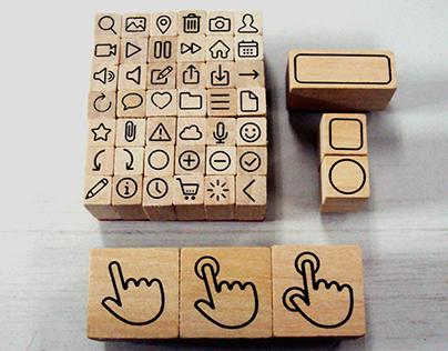Icon Stamp Set