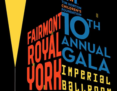Tim Horton Children's Foundation Gala E-vite