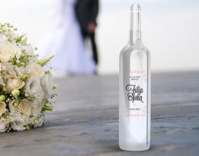 Wedding bottle