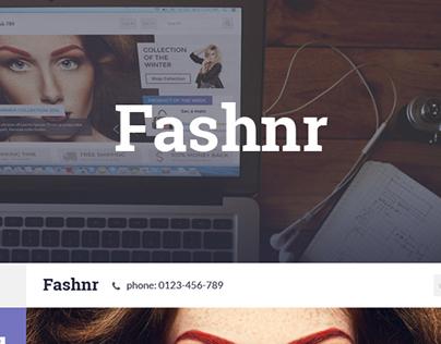 Fashnr Web Template