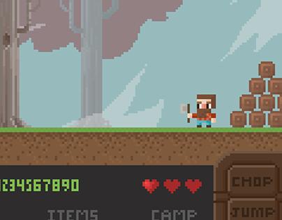 Pixel Woodsman